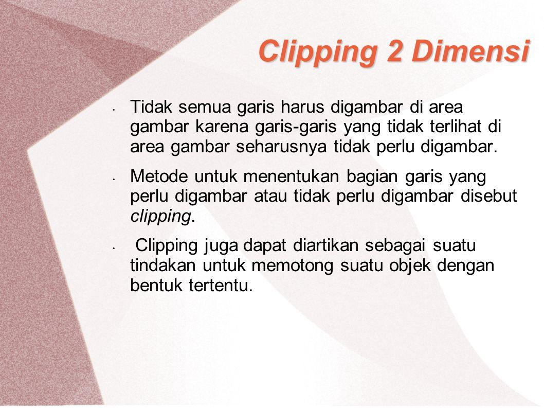 Clipping 2 Dimensi