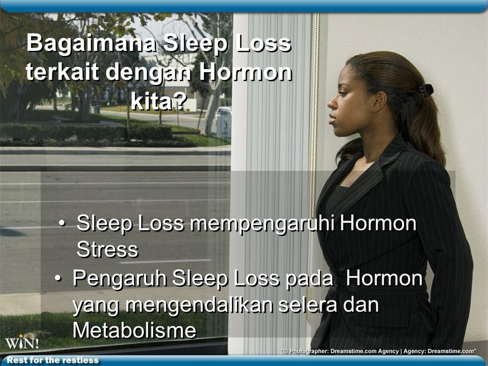Bagaimana Sleep Loss terkait dengan Hormon kita