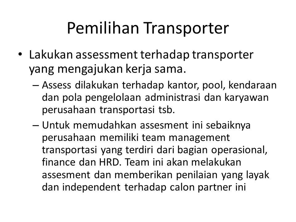 Pemilihan Transporter