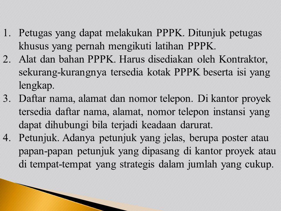 Petugas yang dapat melakukan PPPK