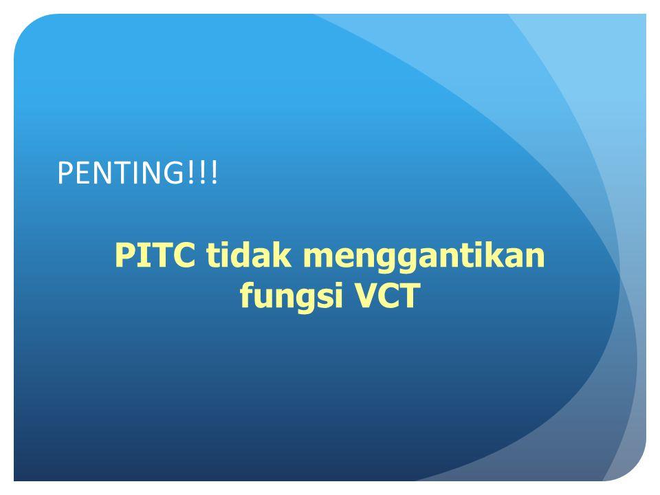 PITC tidak menggantikan fungsi VCT
