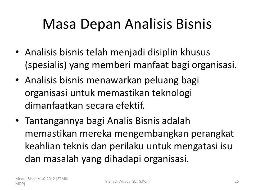 Masa Depan Analisis Bisnis