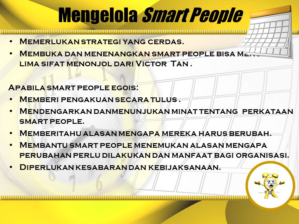 Mengelola Smart People