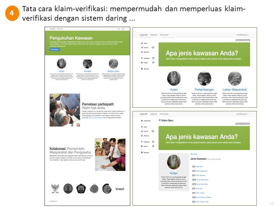4 Tata cara klaim-verifikasi: mempermudah dan memperluas klaim-verifikasi dengan sistem daring ...