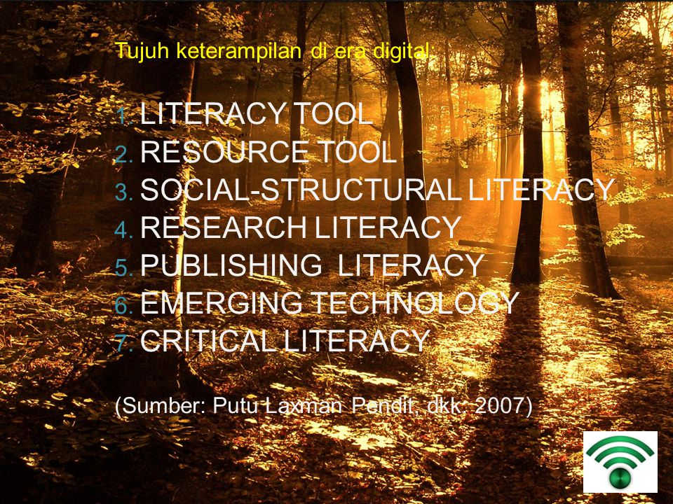 SOCIAL-STRUCTURAL LITERACY RESEARCH LITERACY PUBLISHING LITERACY
