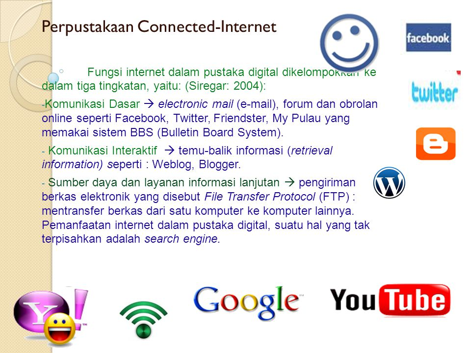 Perpustakaan Connected-Internet
