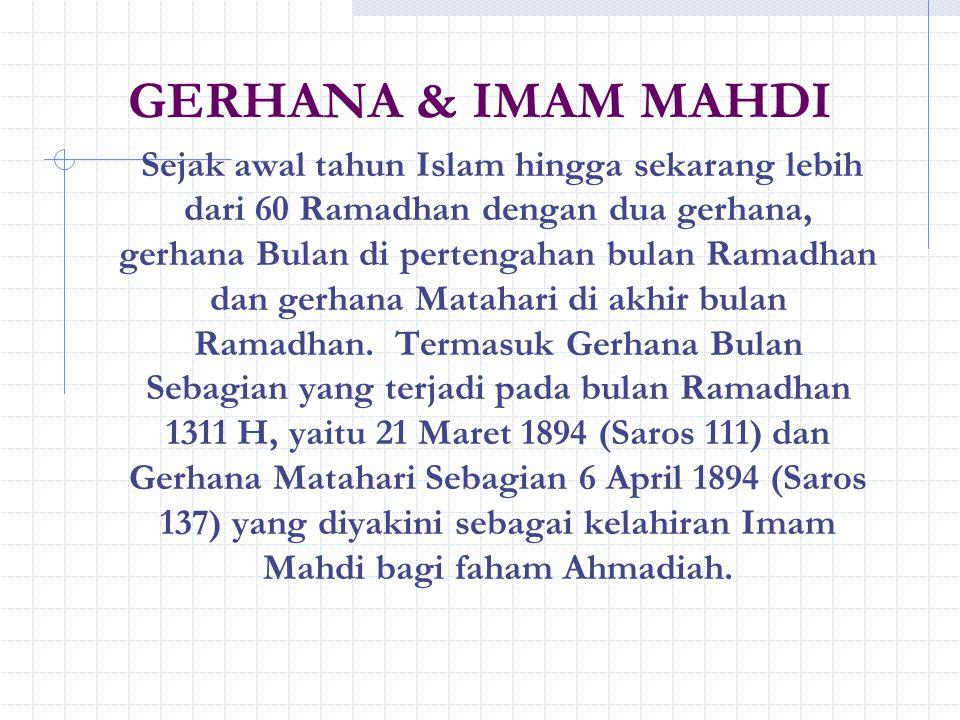 GERHANA & IMAM MAHDI