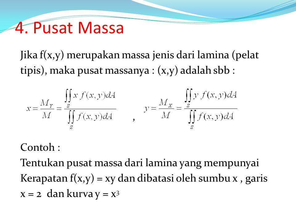 4. Pusat Massa