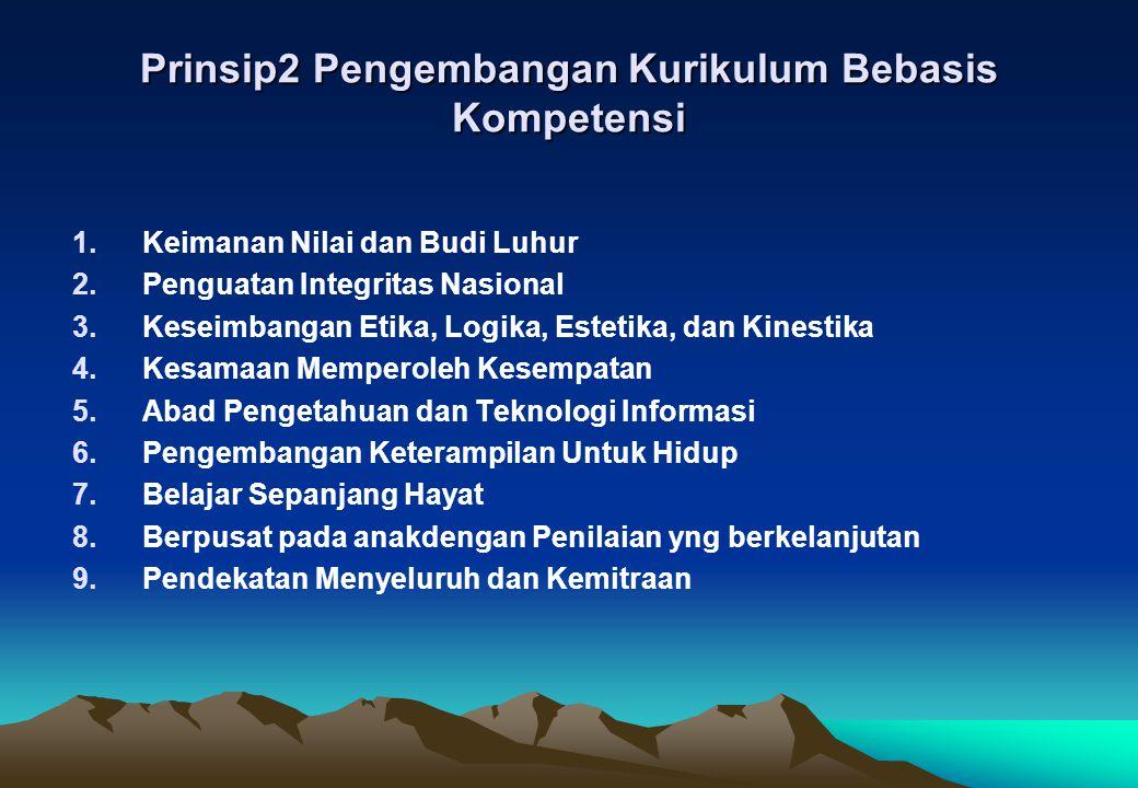 Prinsip2 Pengembangan Kurikulum Bebasis Kompetensi