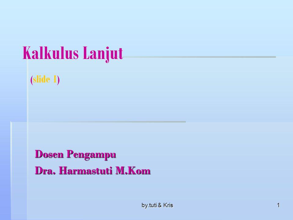Kalkulus Lanjut (slide 1)