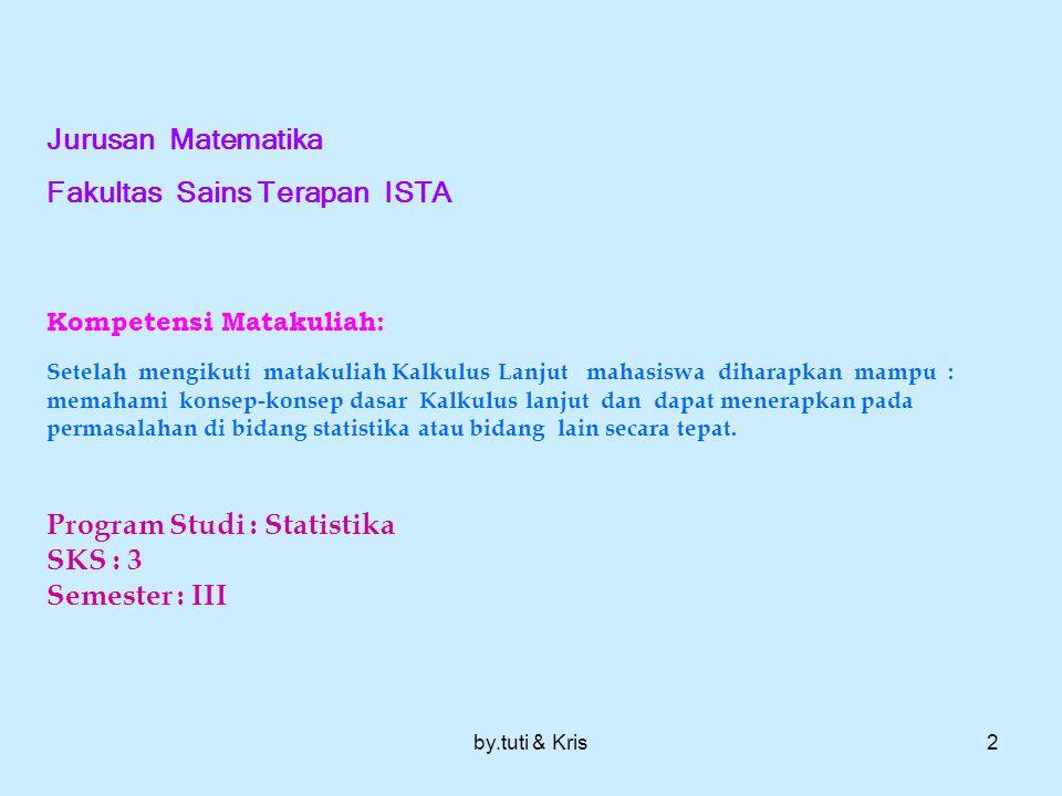 Fakultas Sains Terapan ISTA