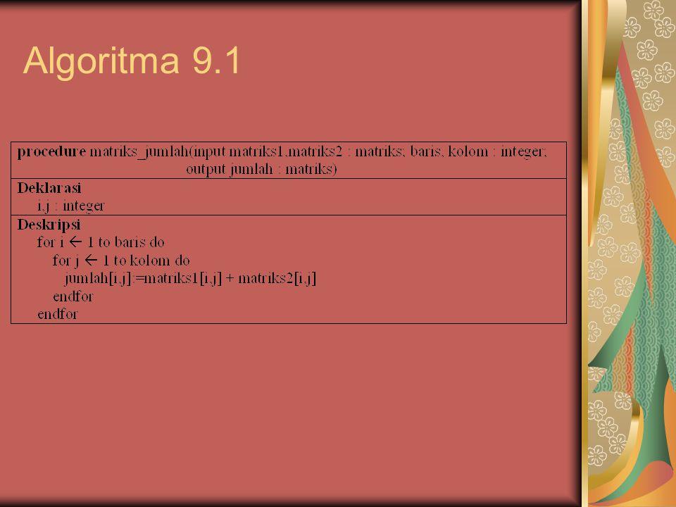 Algoritma 9.1