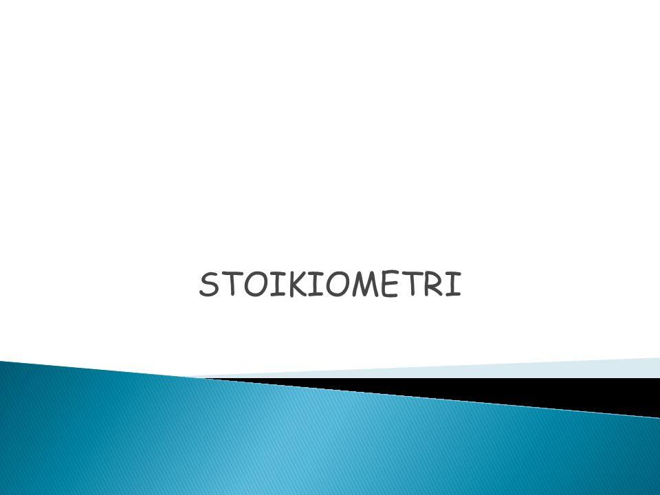 STOIKIOMETRI