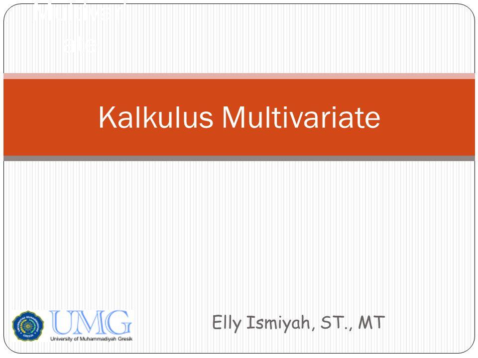 Kalkulus Multivariate