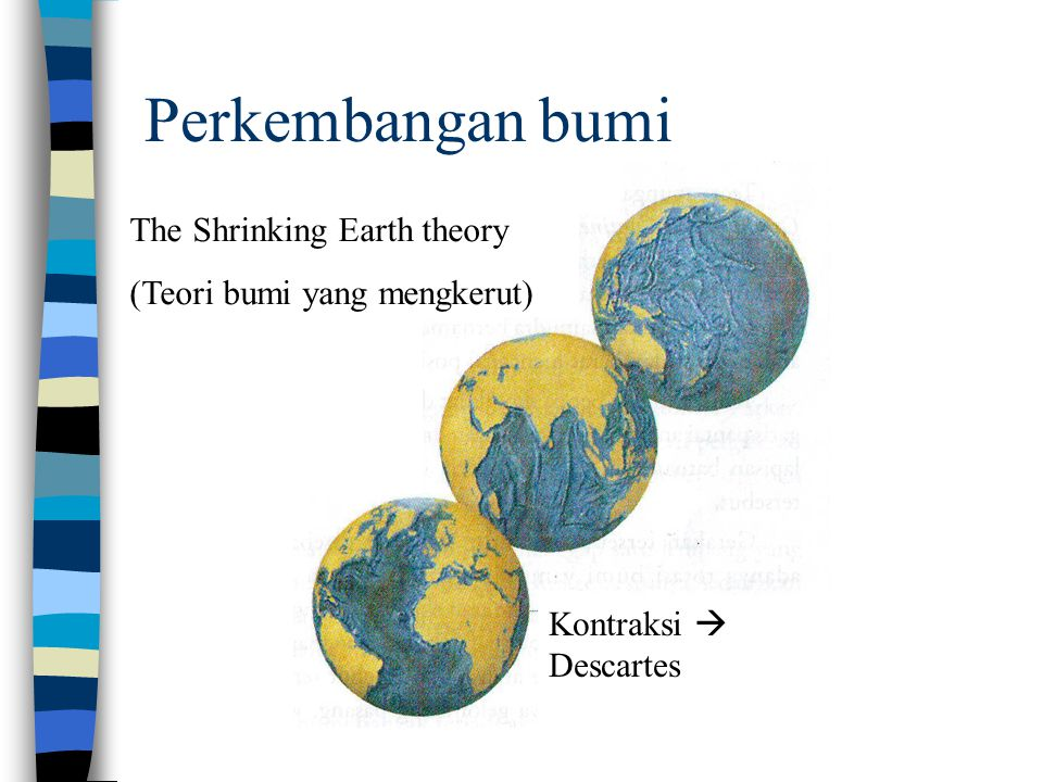 Perkembangan bumi The Shrinking Earth theory