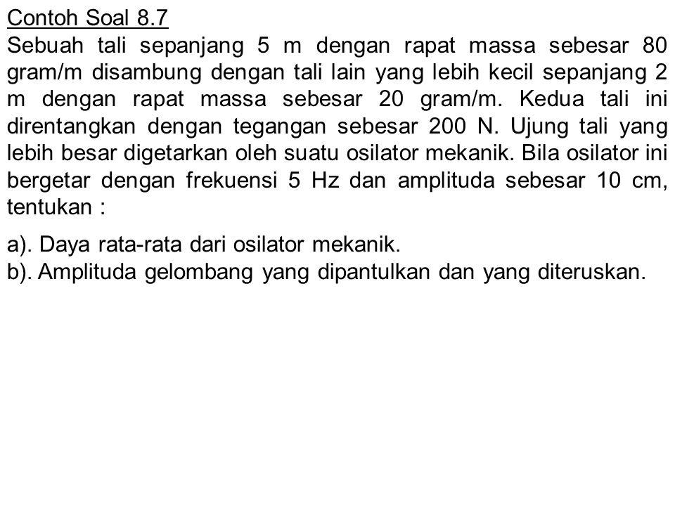 Contoh Soal 8.7