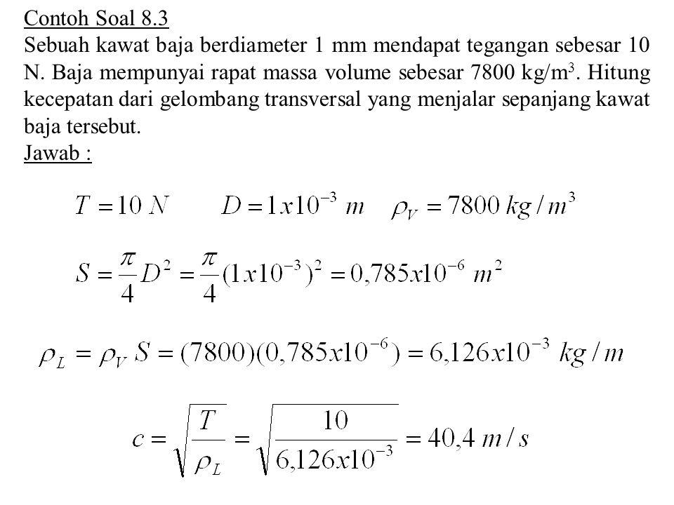 Contoh Soal 8.3