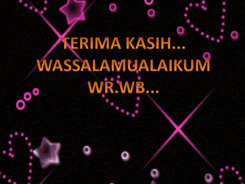 WASSALAMUALAIKUM WR.WB...