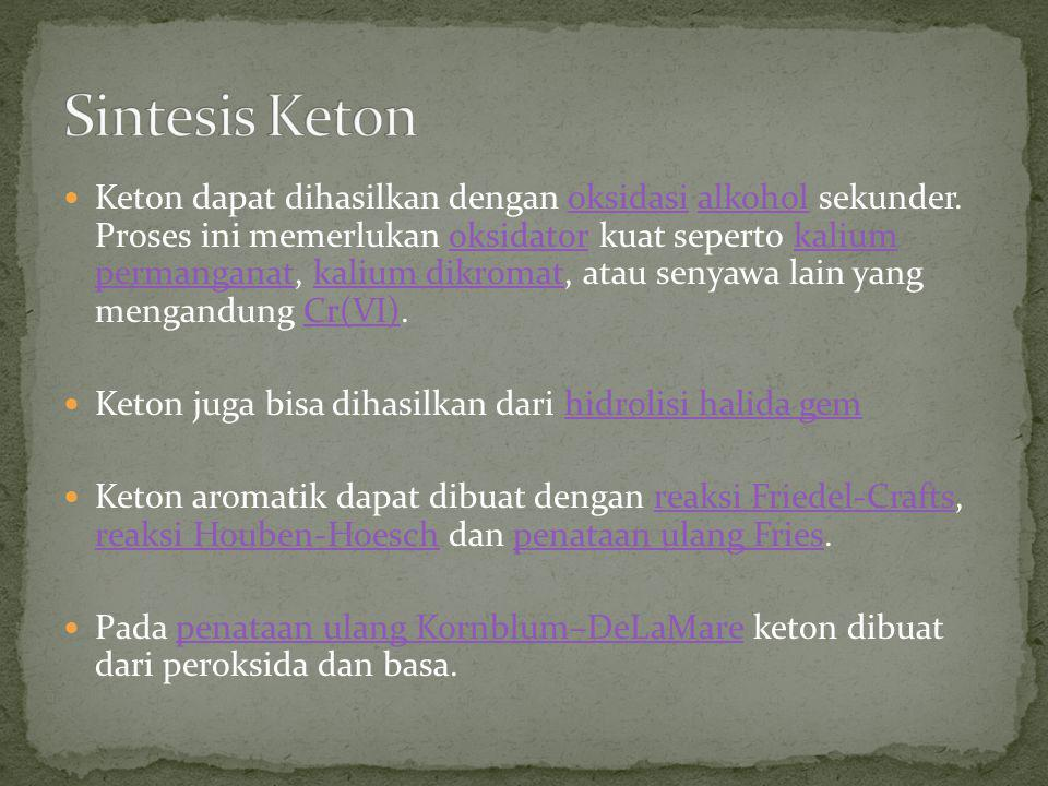 Sintesis Keton