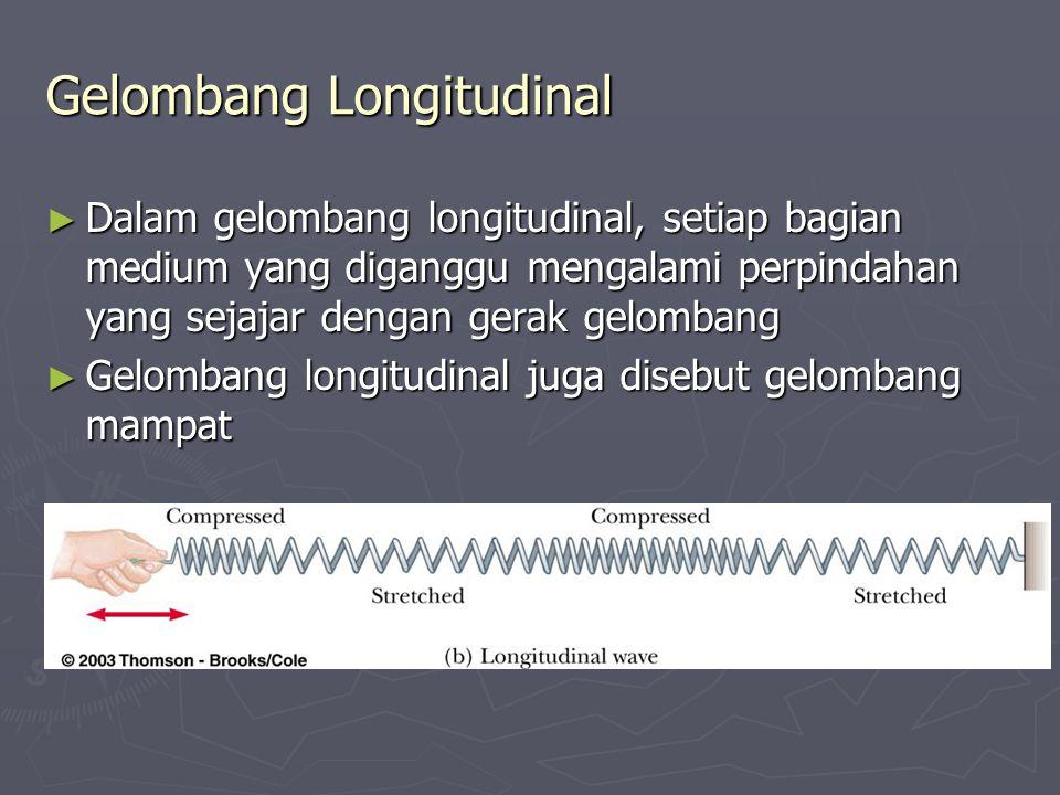 Gelombang Longitudinal