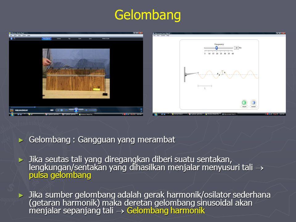 Gelombang Gelombang : Gangguan yang merambat