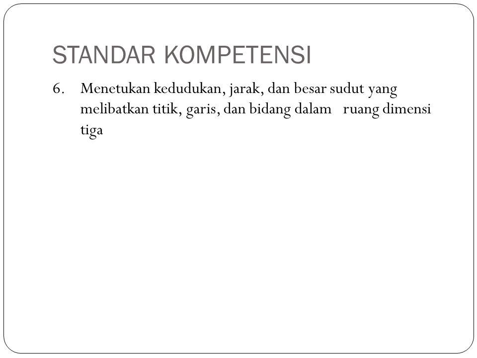 STANDAR KOMPETENSI 6.