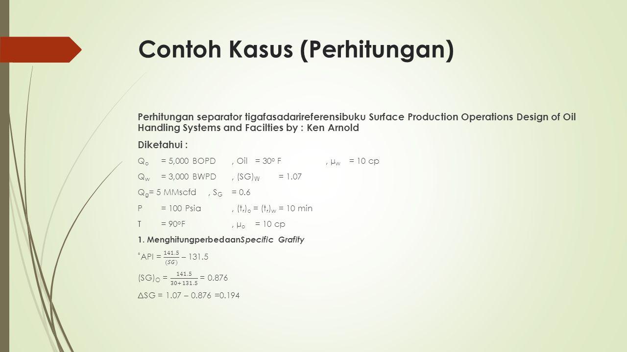 Contoh Kasus (Perhitungan)