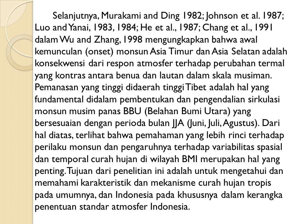 Selanjutnya, Murakami and Ding 1982; Johnson et al