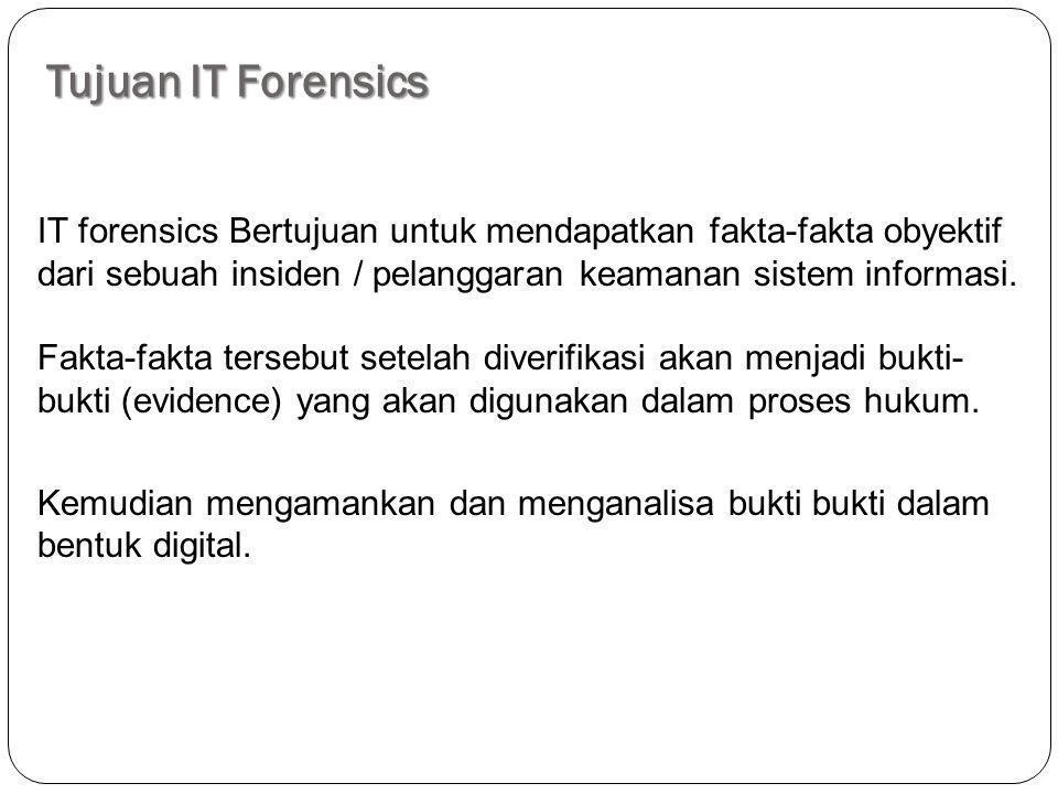 Tujuan IT Forensics