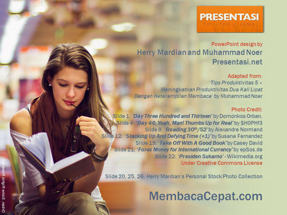 MembacaCepat.com Presentasi.net