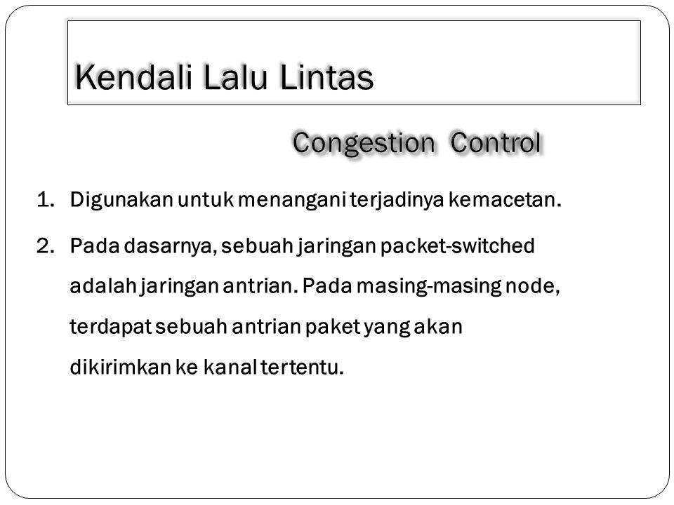 Kendali Lalu Lintas Congestion Control