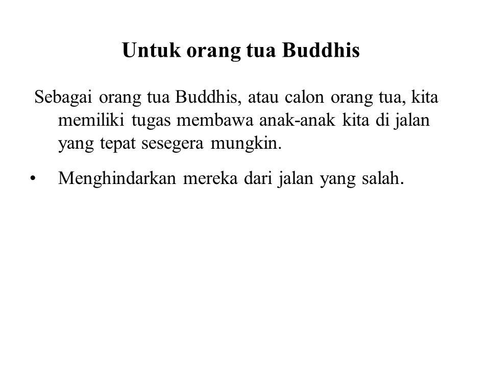 Untuk orang tua Buddhis