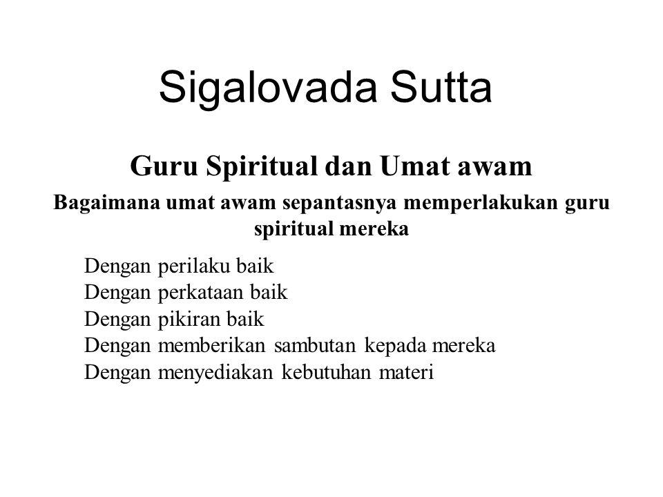 Guru Spiritual dan Umat awam