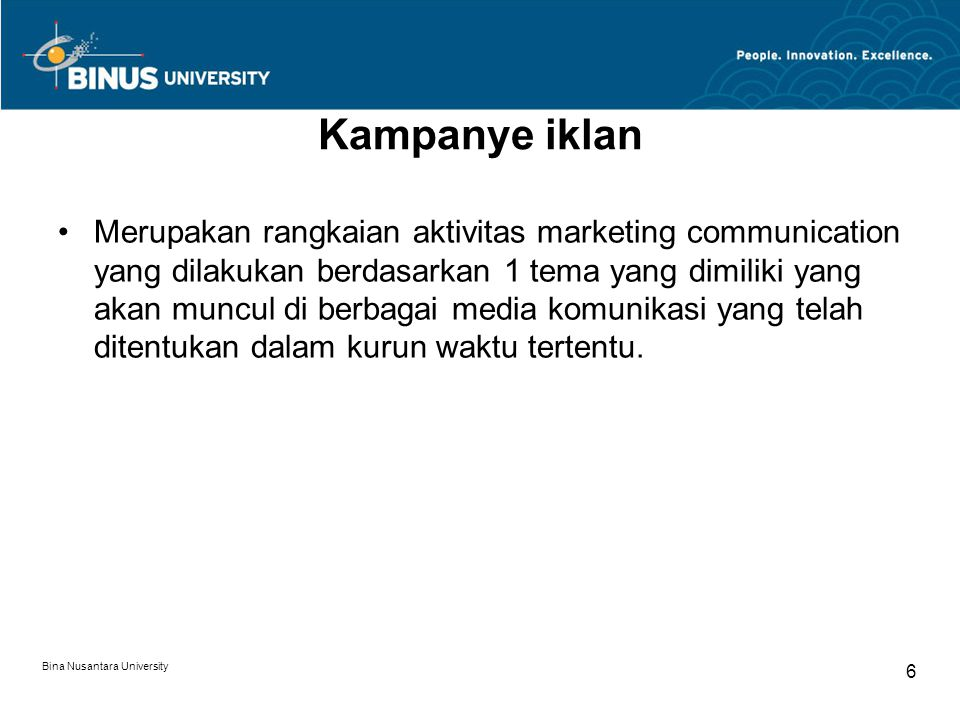 Kampanye iklan