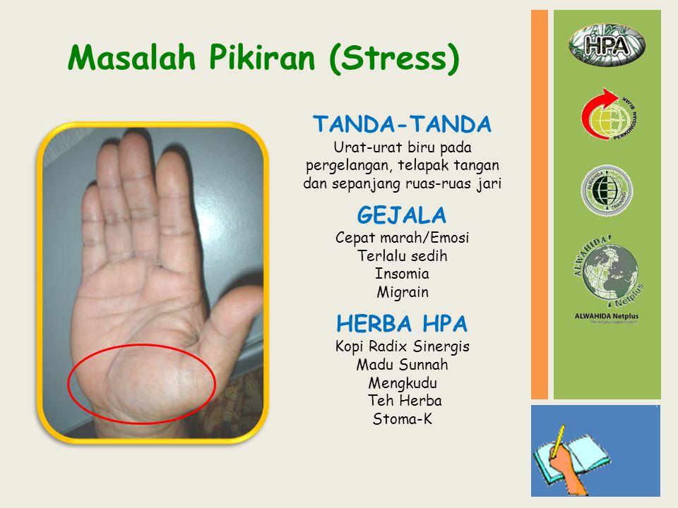 Masalah Pikiran (Stress)