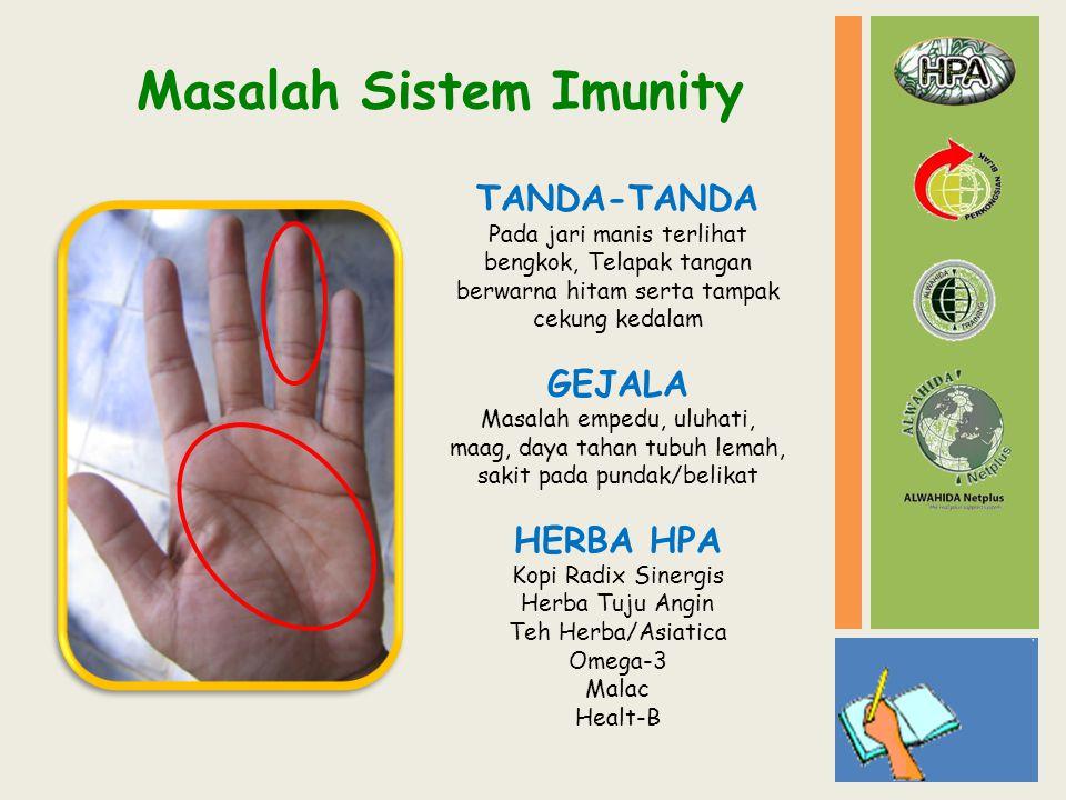 Masalah Sistem Imunity