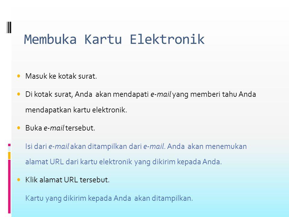 Membuka Kartu Elektronik