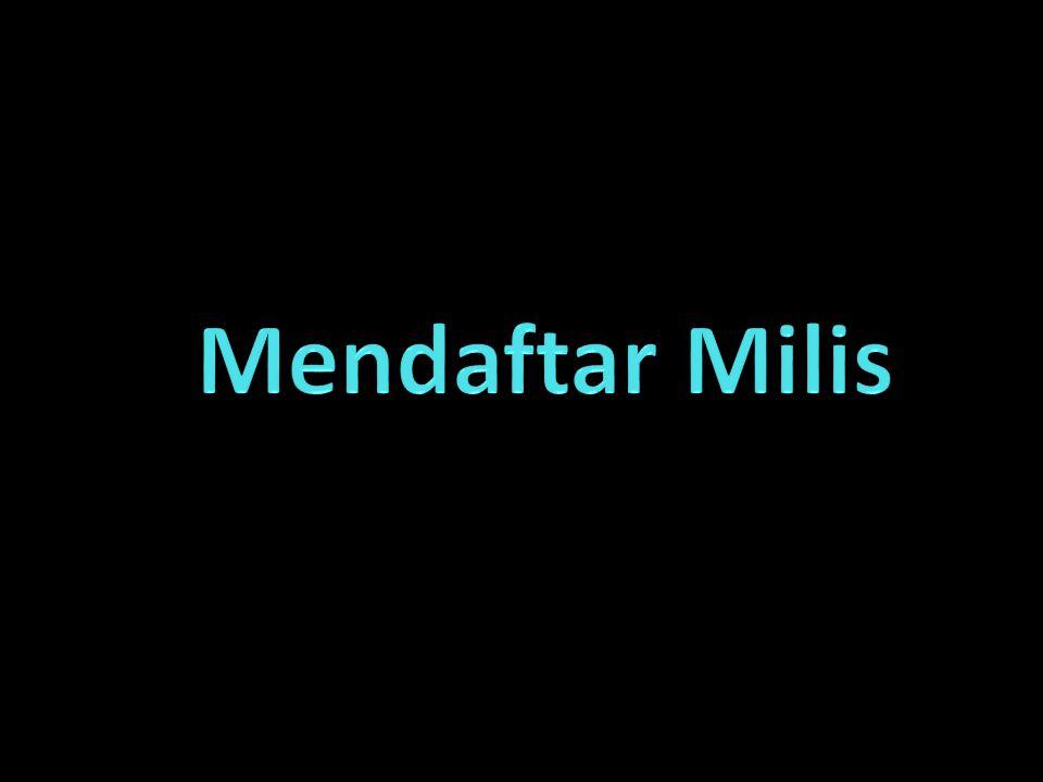 Mendaftar Milis