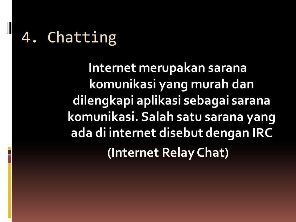 4. Chatting