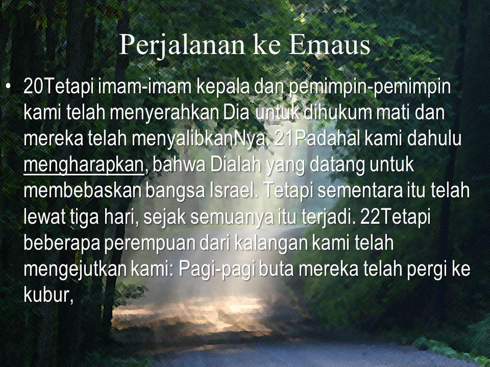 Perjalanan ke Emaus