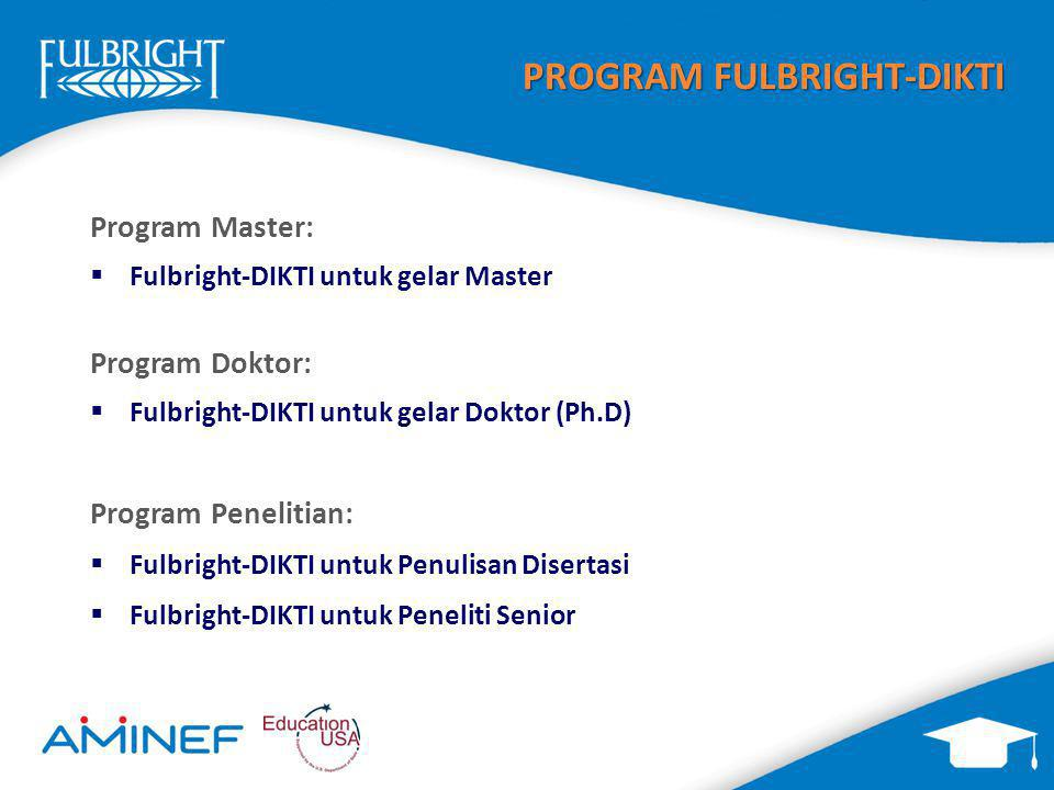 PROGRAM FULBRIGHT-DIKTI