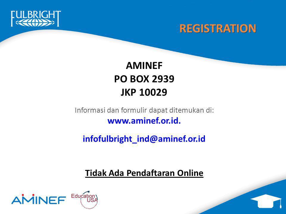 Tidak Ada Pendaftaran Online