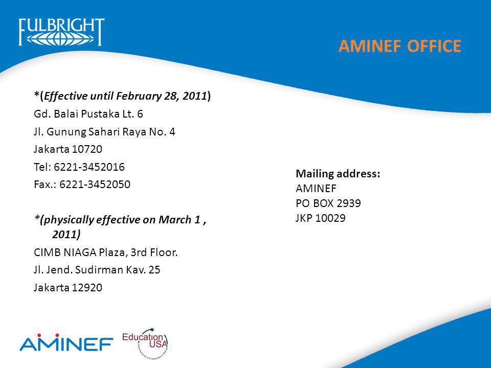 AMINEF OFFICE