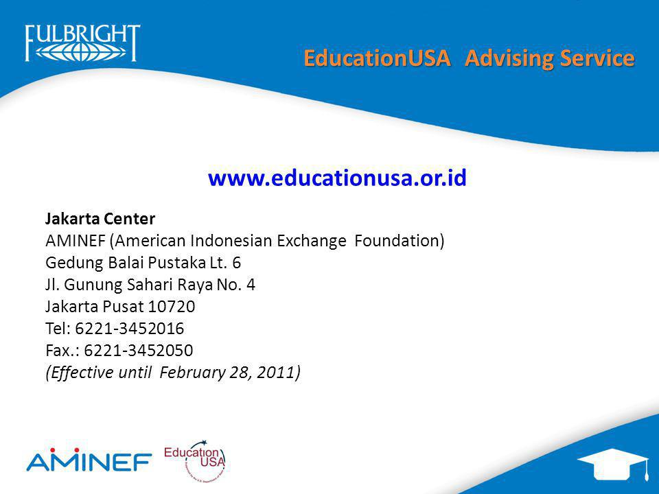 EducationUSA Advising Service