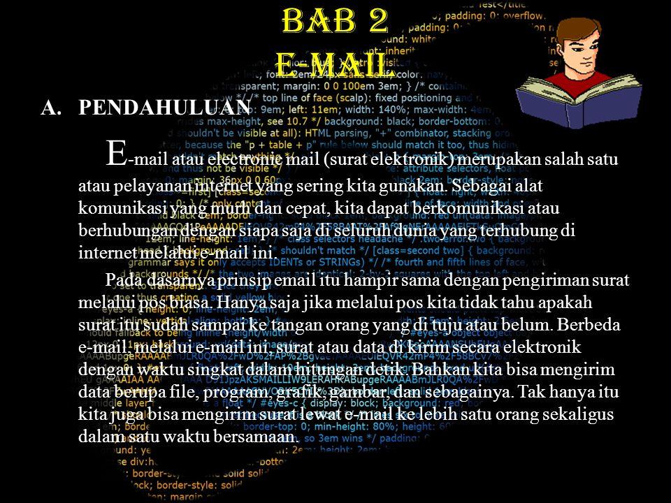 BAB 2 E-MAIL PENDAHULUAN
