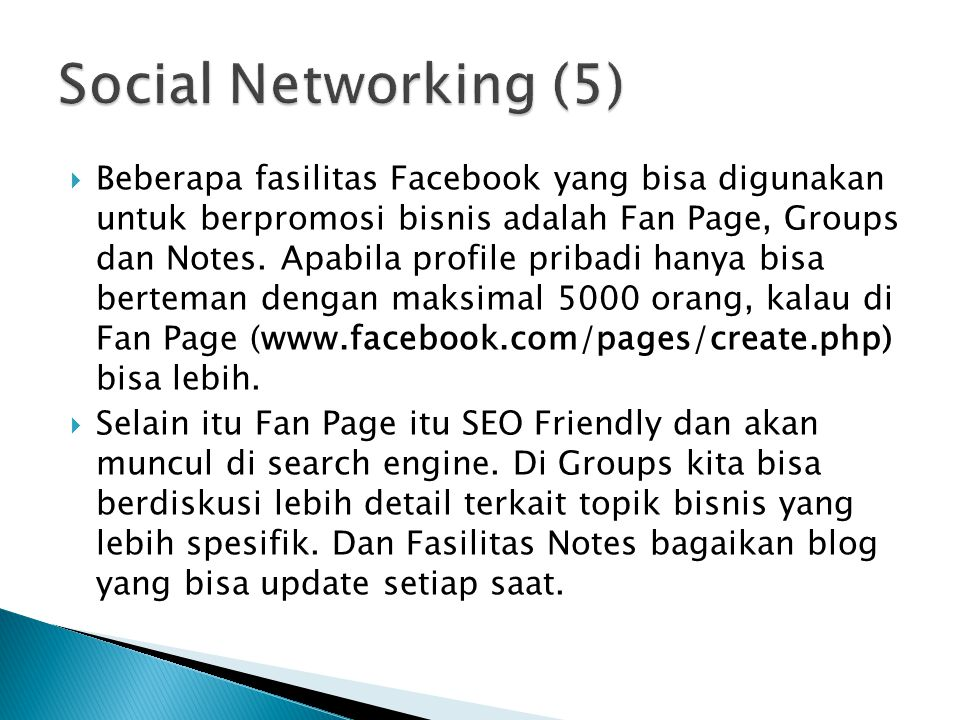 Social Networking (5)