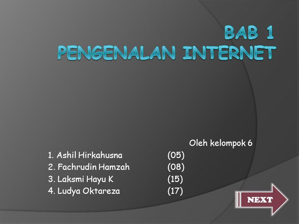Bab 1 Pengenalan Internet