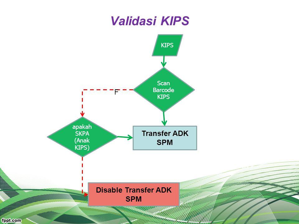 Disable Transfer ADK SPM