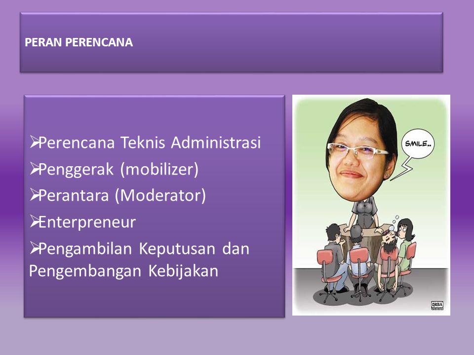 Perencana Teknis Administrasi Penggerak (mobilizer)