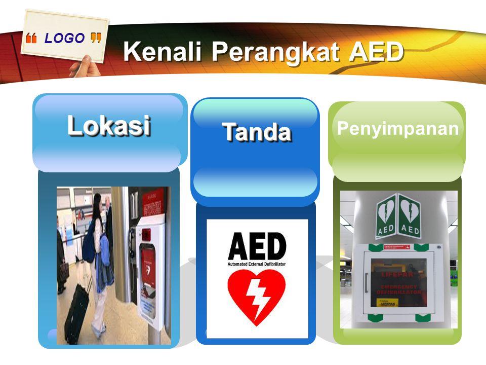 Kenali Perangkat AED Lokasi Tanda Add Your Text here Penyimpanan